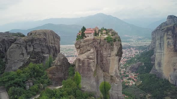 Thumbnail for Monastery of Holy Trinity in Meteora Greece