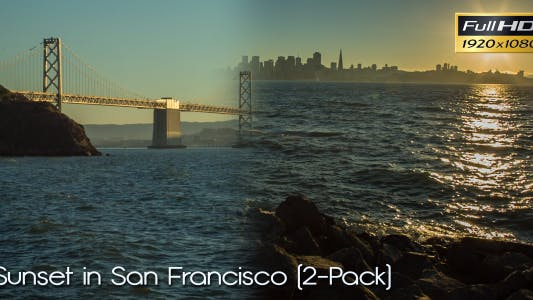 Thumbnail for Sunset in San Francisco (2-Pack)