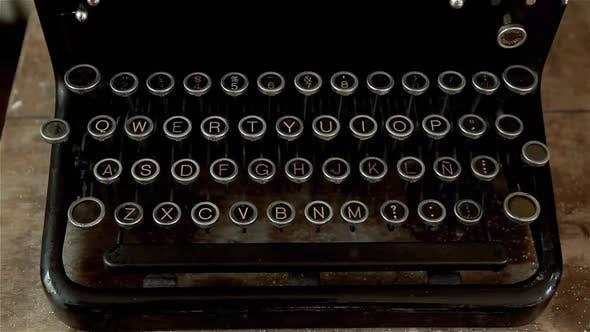 Thumbnail for Old Vintage Typewriter.