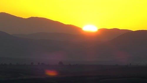 Sunset ( Miniature Effect)