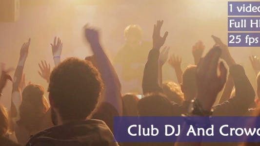 Thumbnail for Club Crowd And A DJ