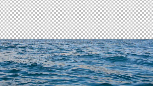 Thumbnail for Sea Surface With Transperant Background