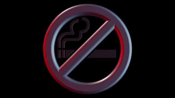 Cigarette No Smoking Symbol 4k