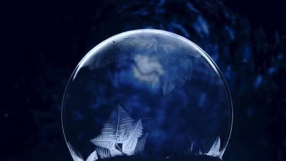 Frozen Bubble, Winter Holidays Background
