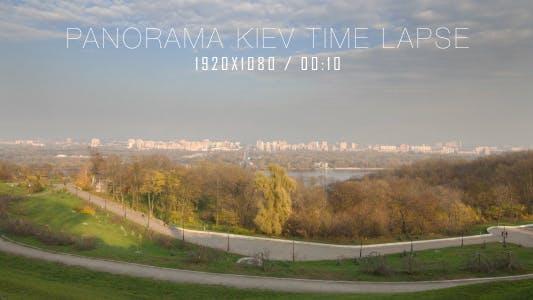 Panorama Kiev Time Lapse