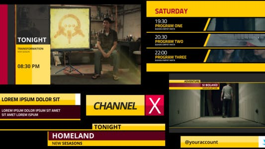 Channel X Broadcast Package