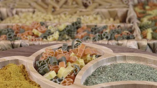 Fresh Vegetarian Italian Raw Food Macaroni Pasta 52