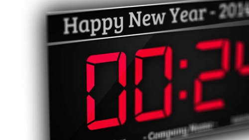 New Year - One Minute Countdown