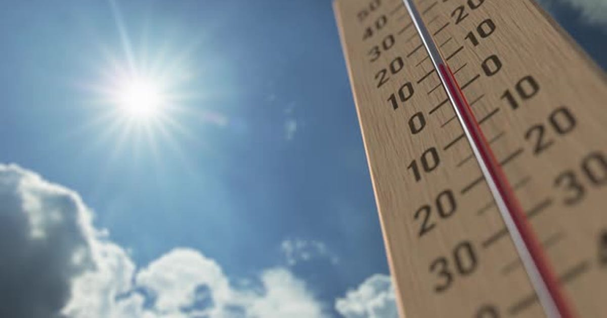 Outdoor Thermometer Reaches 35 Thirty-five Degrees