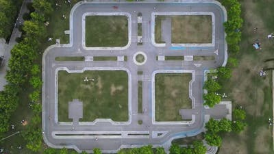 Aerial DroneStudy Traffic Rules for Kids