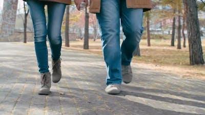 Walking On Foot