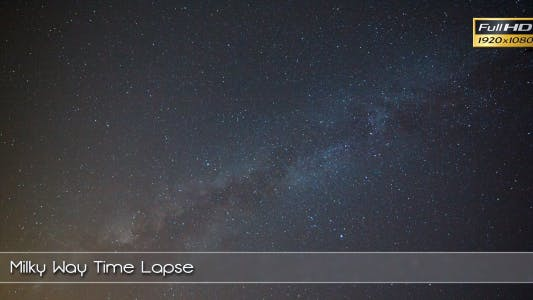 Thumbnail for Milky Way Time Lapse