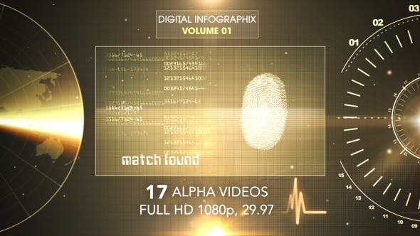 Thumbnail for Digital Infographix Vol 1