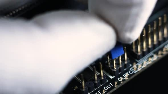 Thumbnail for Connecting a Jumper On a Modern Motherboard
