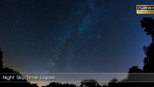 Thumbnail for Night Sky Time Lapse