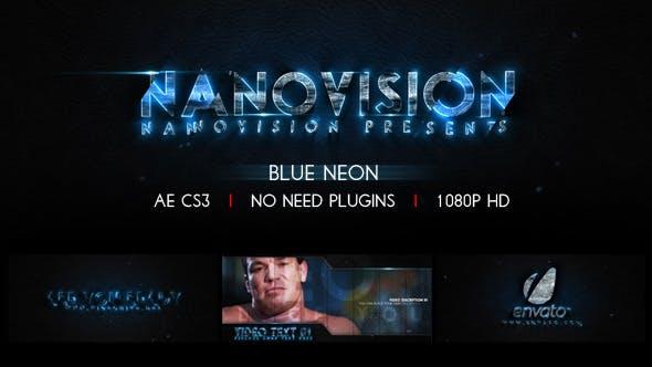 Blue Neon V.1