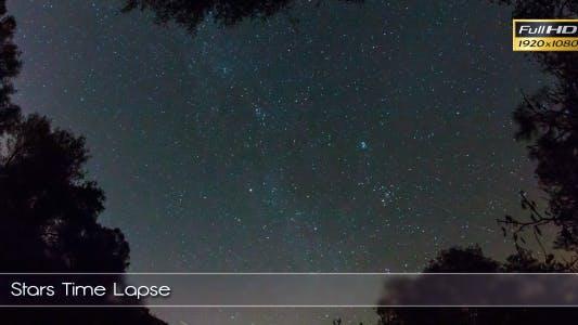Thumbnail for Stars Time Lapse