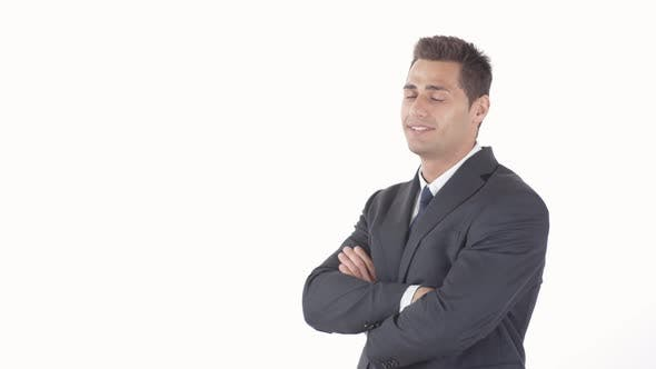 Thumbnail for Mixed-race Smiling Businessman