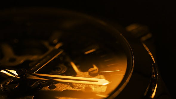 Thumbnail for Wristwatch Close Up. Light And Shadow