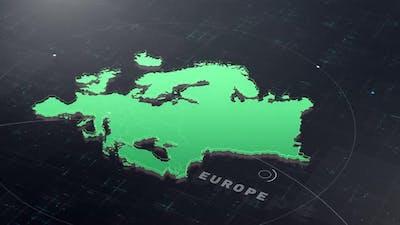 Digital Tech Europe Map