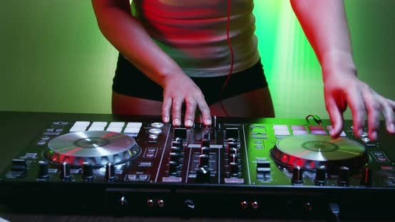 Thumbnail for Sexy Woman of DJ Tweak Various Track Controls on DJ Deck 30