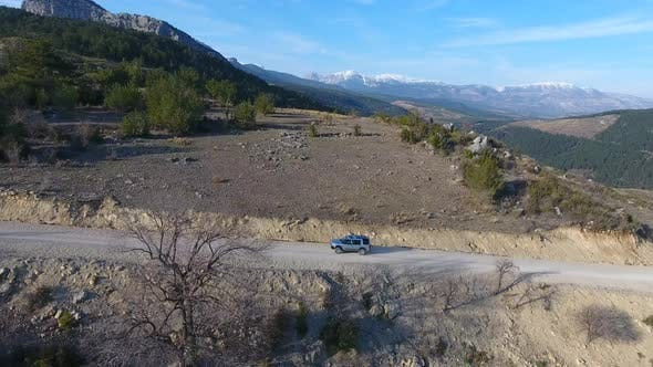 Thumbnail for Car Climbing Mountain Pass