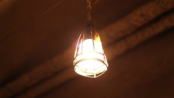 Thumbnail for Swaying Lamp in Basement