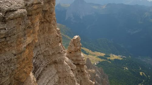 Stunning View of Valley and Rocks