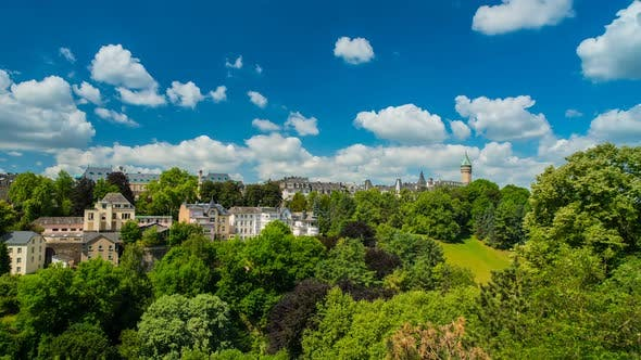 Thumbnail for Luxembourg City Panoramic View