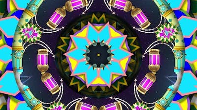 Colorful Ornament Kaleidoscope