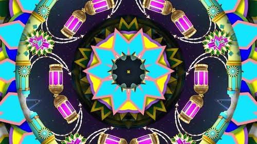 Colorful Ornament Kaleidoscope