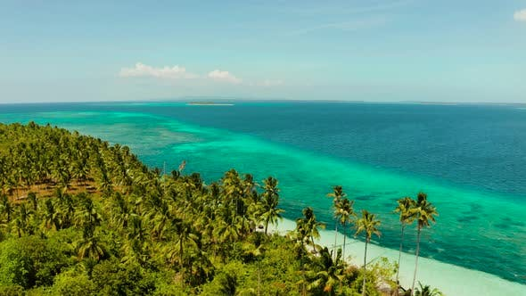 Thumbnail for Tropical Islands with Sandy Beaches. Balabac, Palawan, Philippines.