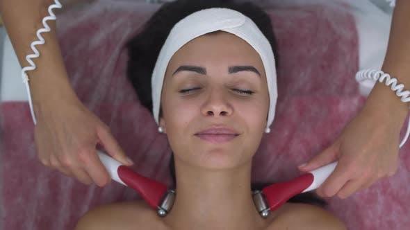 Thumbnail for Beautiful Girl in Massage Salon