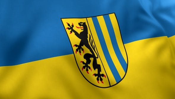 Leipzig City Flag