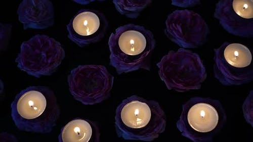 Roses and Candles 20