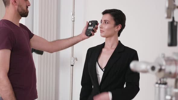 Measuring Light with a Professional Light Meter