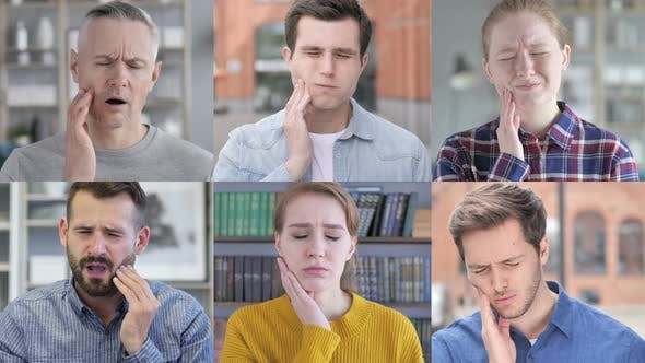 Thumbnail for Collage of Young People with Toothache