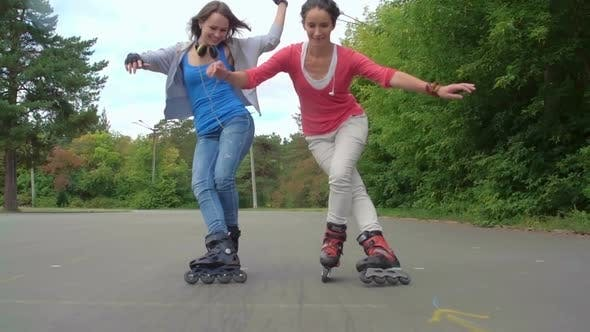 Cover Image for Practicing Rollerblading