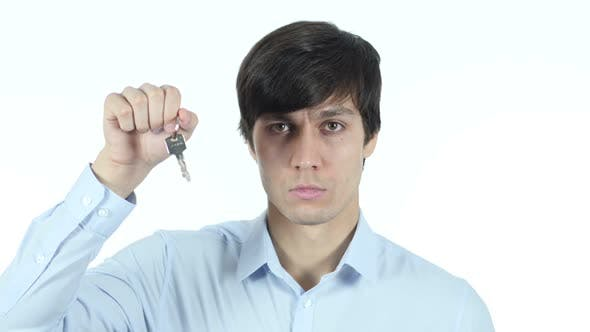 Thumbnail for Businessman Showing Keys of House