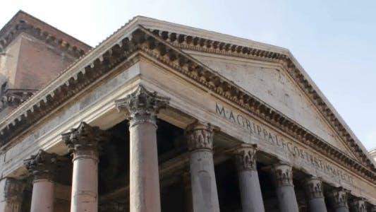 Facade of Pantheon