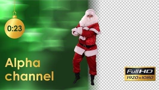 Santa Claus Dancing 3