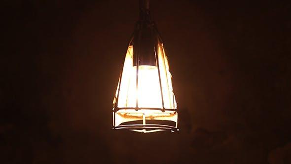 Old Cellar Lamp Light