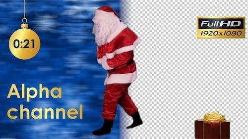 Santa Claus Brings a Gift