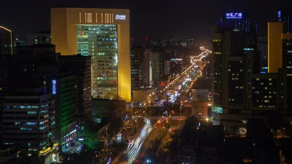 Thumbnail for Dongcheng District By Beijing Buildings in China Timelapse