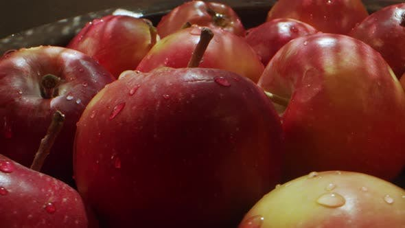 Red Juicy And Healthy Fruit Apple 4