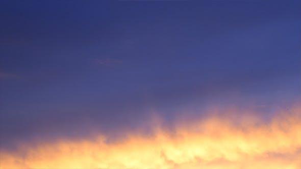 Thumbnail for Burning Sky Sunset Timelapse