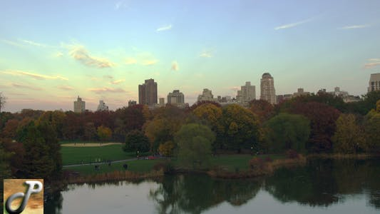 Thumbnail for Turtle Pond in Central Park NYC Sunset