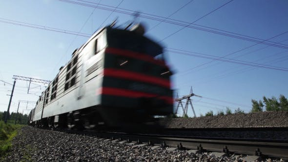 Thumbnail for Freight Train in Motion