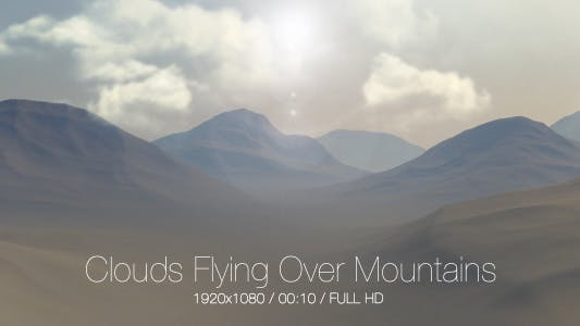 Cover Image for Clouds Flying Over Mountains