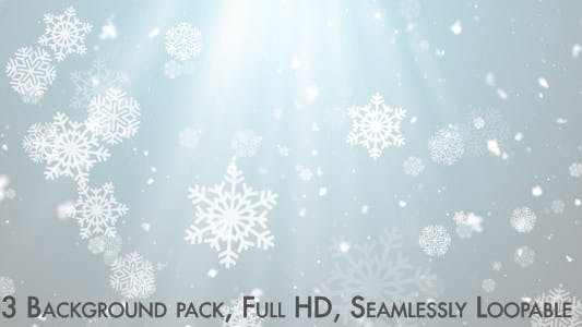 Thumbnail for Snowflakes Falling